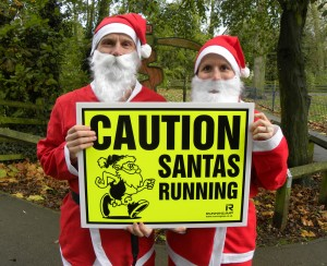 Omniprint support Harborough's first Santa Fun Run