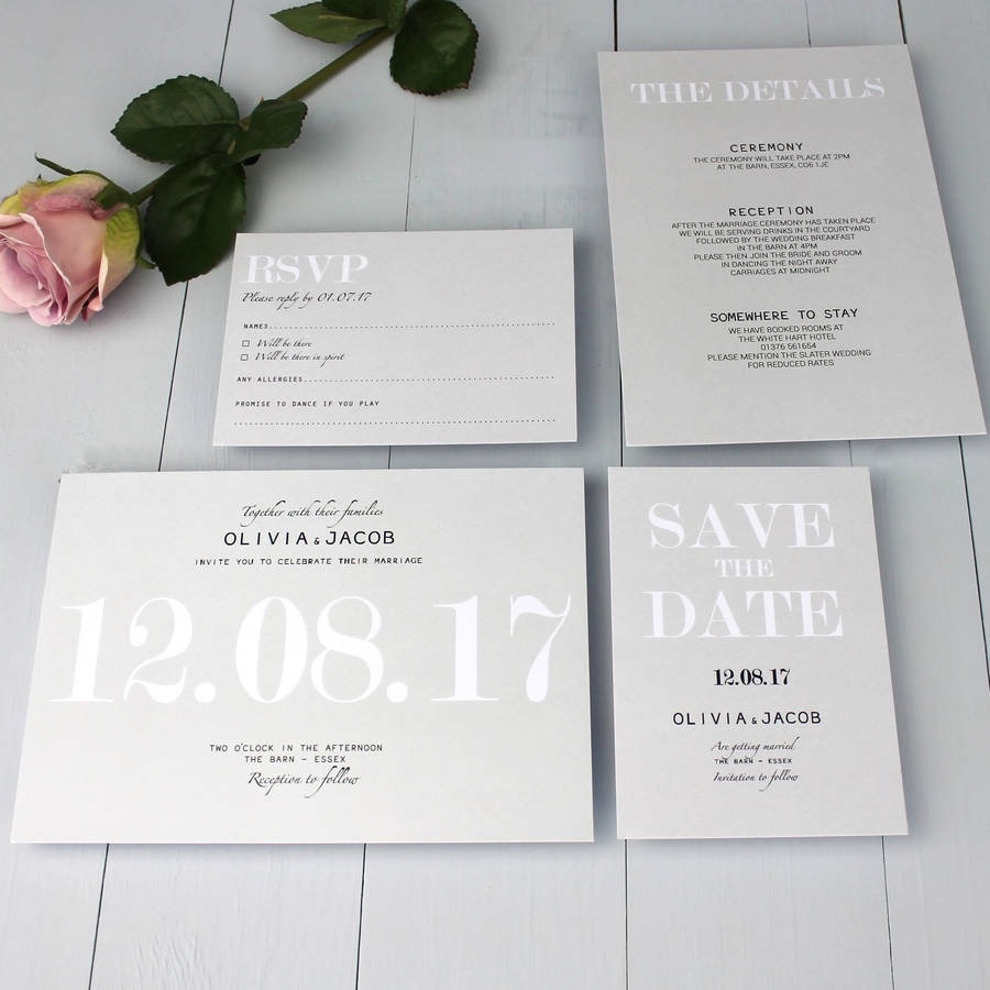 5 alternative wedding stationery ideas